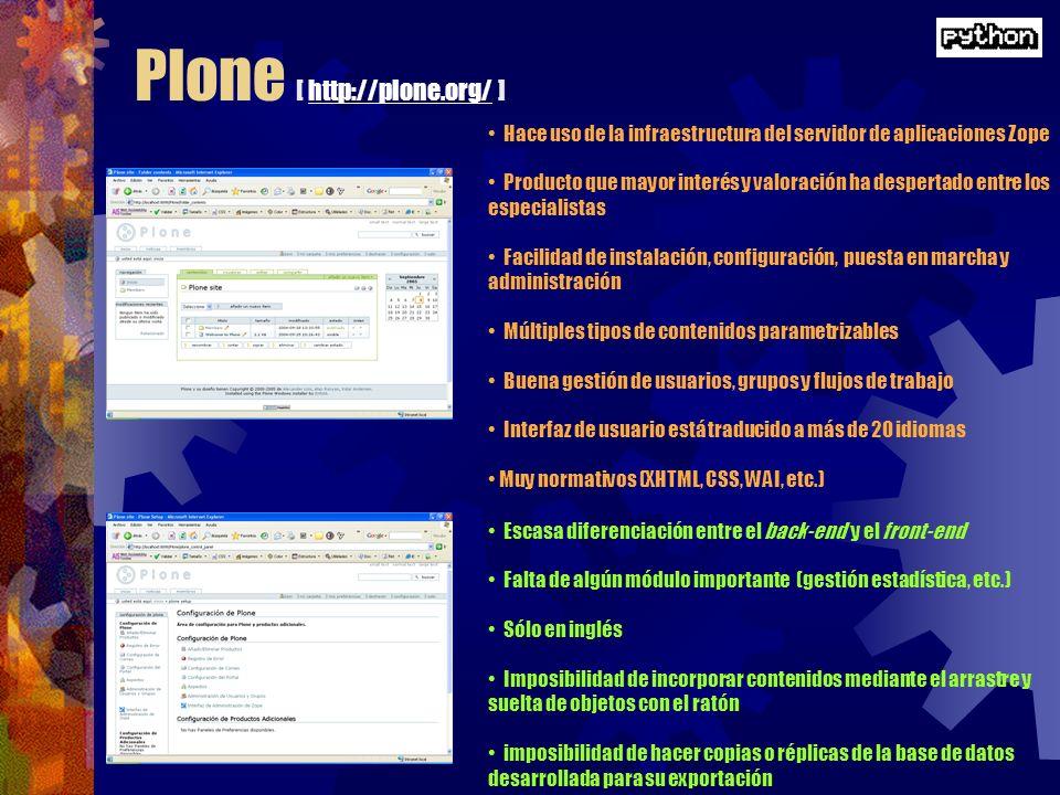 Plone [ http://plone.org/ ]